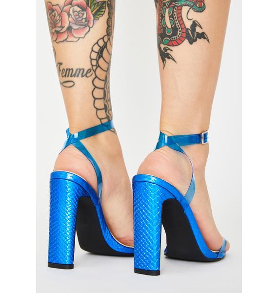 AZALEA WANG Waldorf Snake Heels