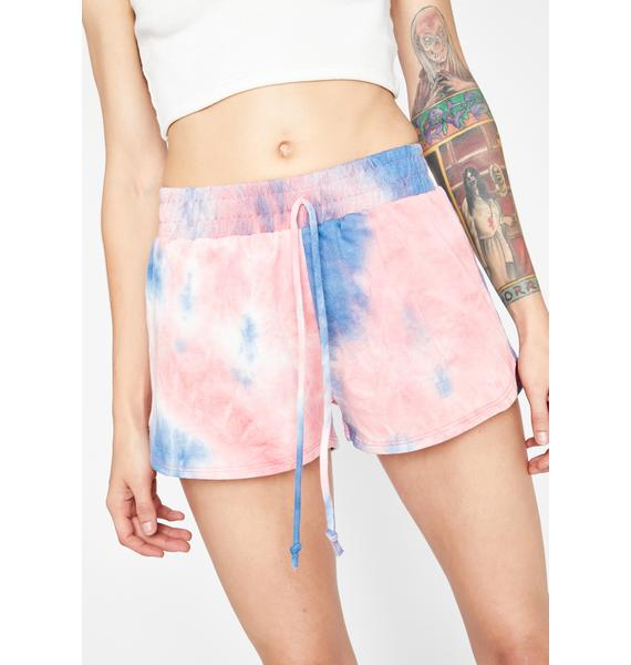 Candy Max Chill Tie Dye Shorts