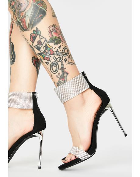 Baddie Bravo Rhinestone Heels
