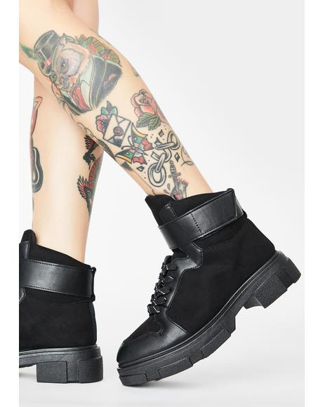 Go Figure Combat Boots