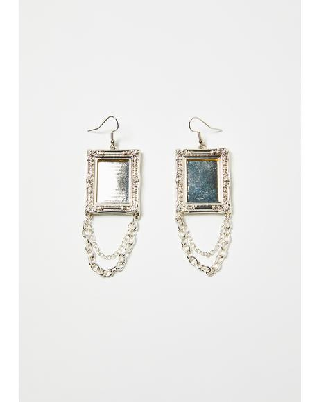 Artsy Soul Frame Drop Earrings