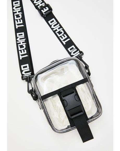 All Night Techno Crossbody Bag