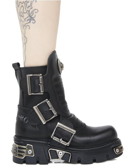 Rebellion Buckle Boots