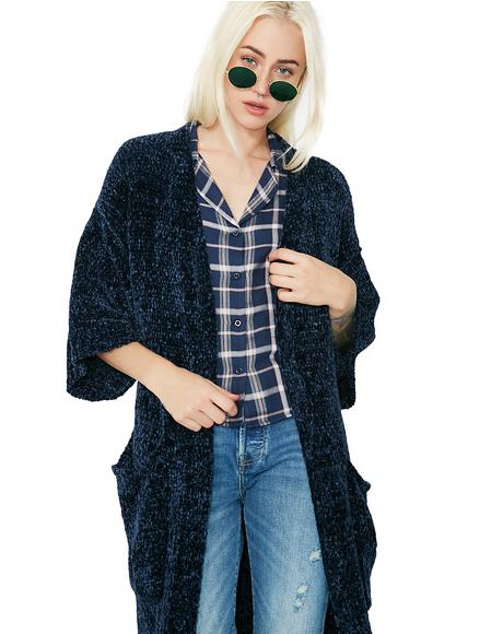 Walk On By Open Cardigan