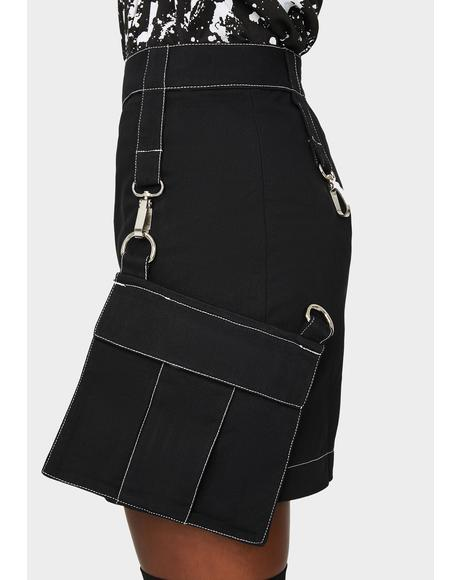 Command Cargo Mini Skirt