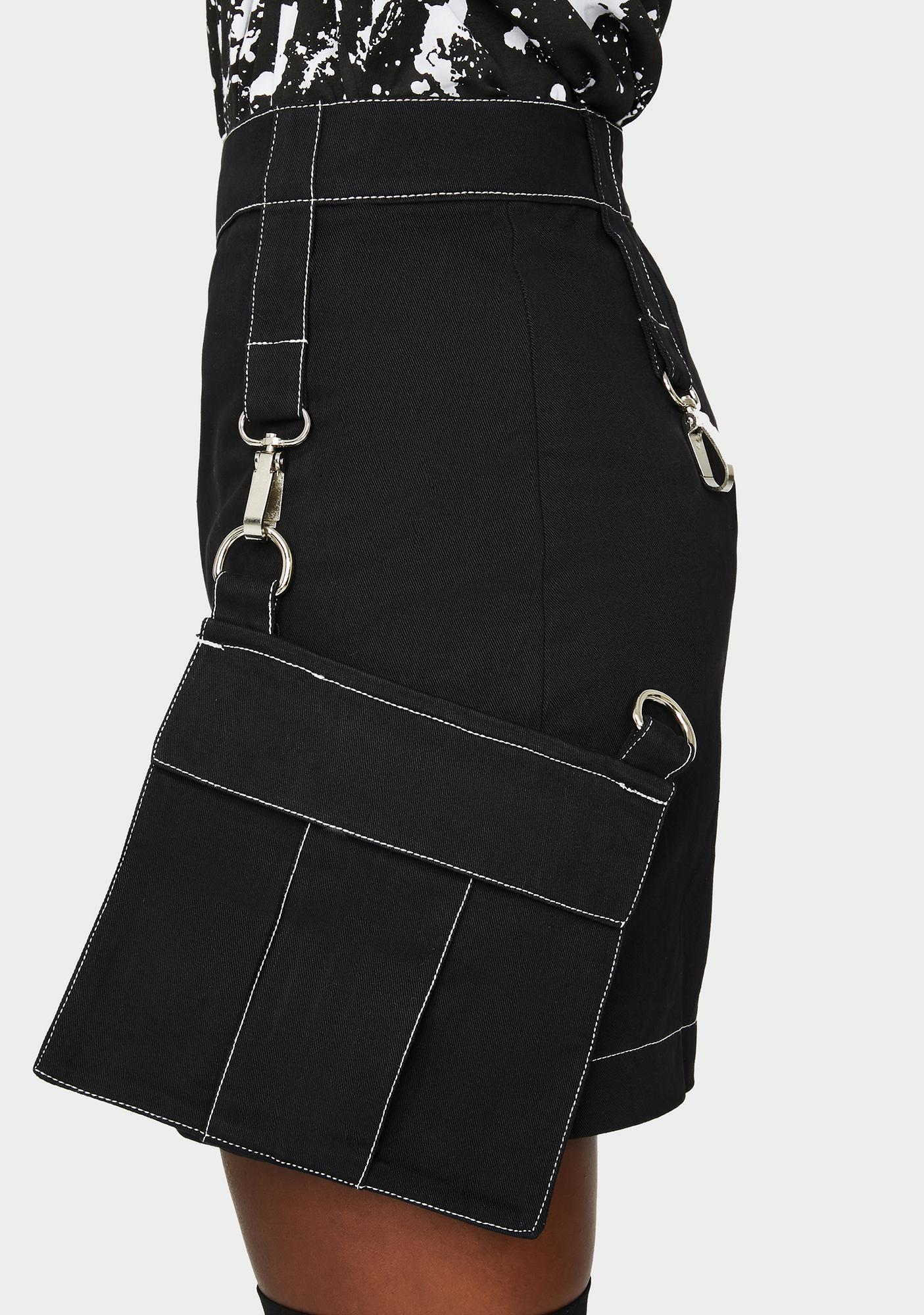 The Ragged Priest Command Cargo Mini Skirt