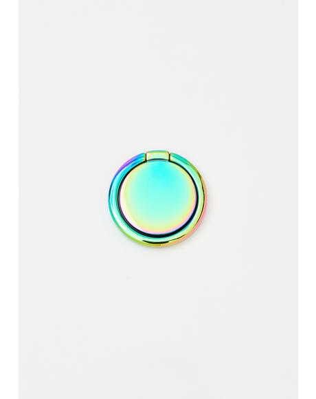 Bliss Magic Iridescent Phone Ring