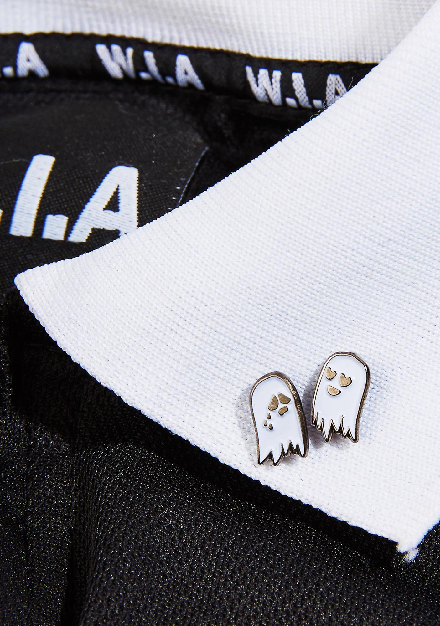 Sara M Lyons Tiny Ghosts Pin Set