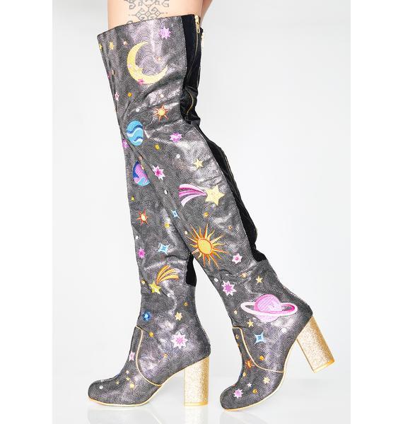Irregular Choice Satine Thigh High Boots