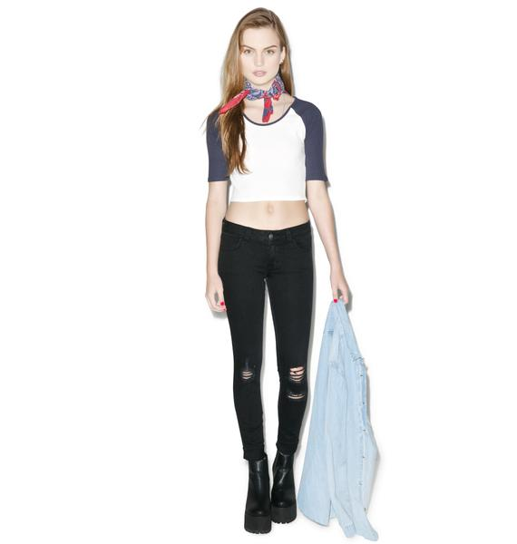 SIWY Denim Hannah Tonight's The Night Slim Crop Jeans