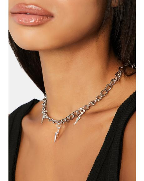 Shock Value Chain Necklace