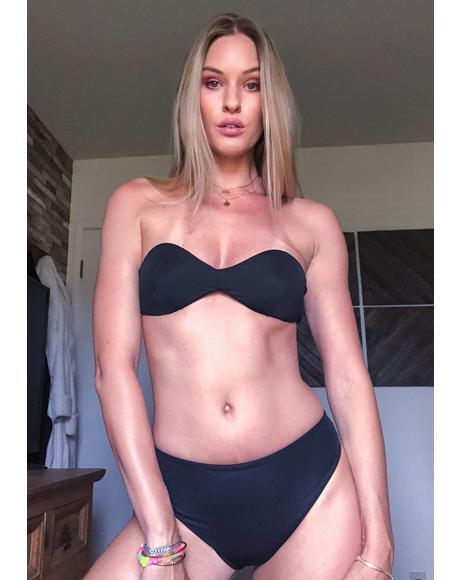 Capricorn Strapless Bikini Top