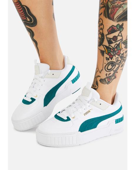 Teal Cali Sport Heritage Sneakers