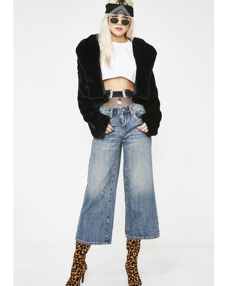 Dip N' Do It Cropped Jeans