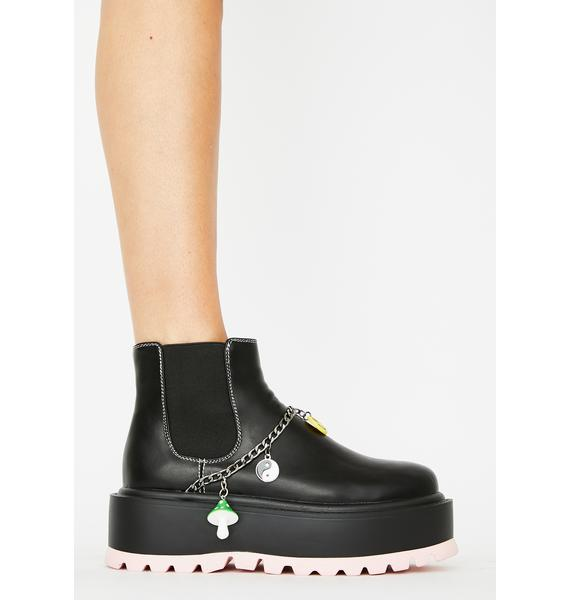 Koi Footwear Dark Light Platform Boots