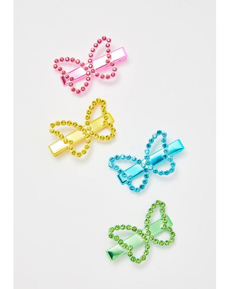 Butterfly Charmer Clip Set