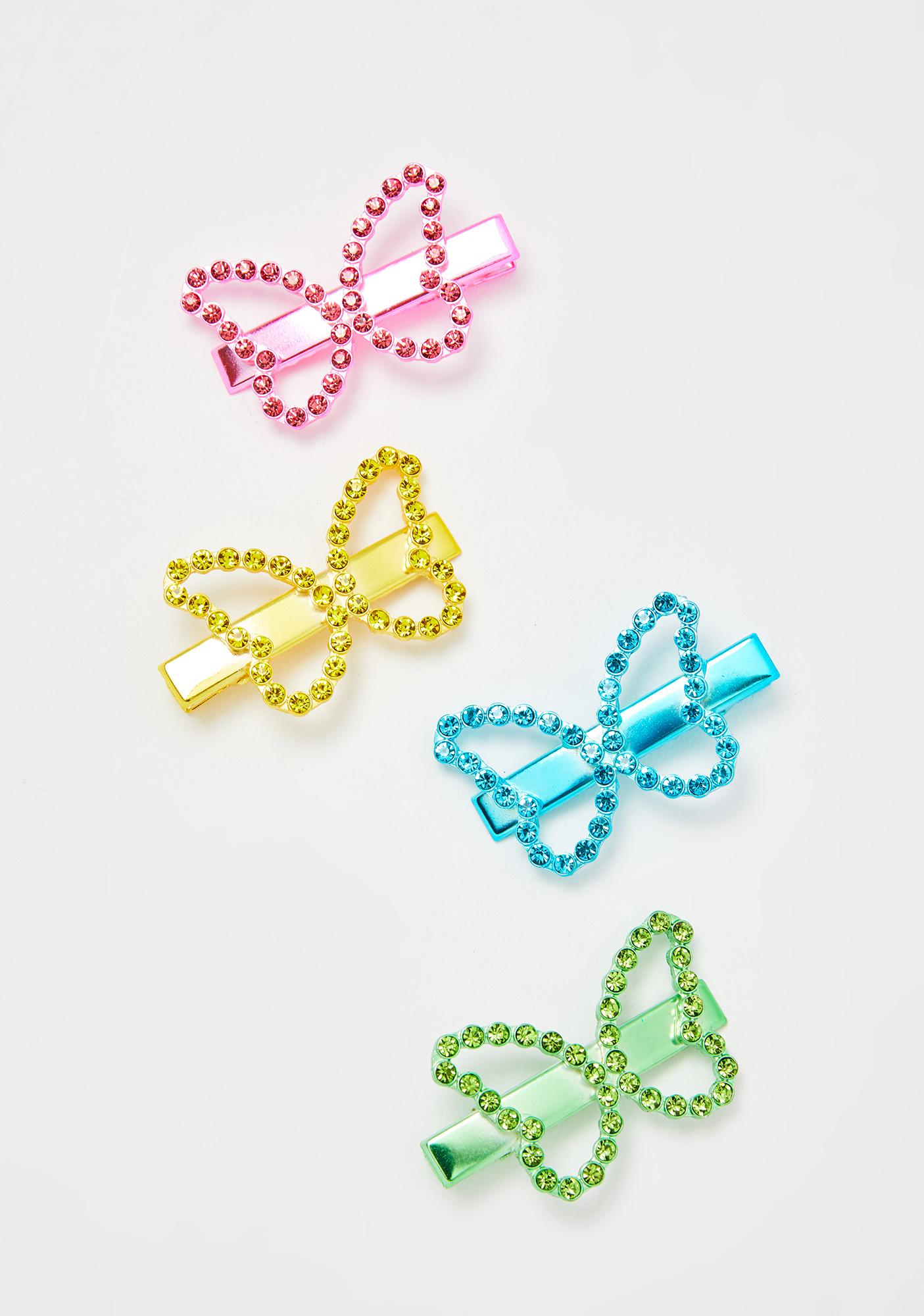 Butterfly Charmer Clip Set