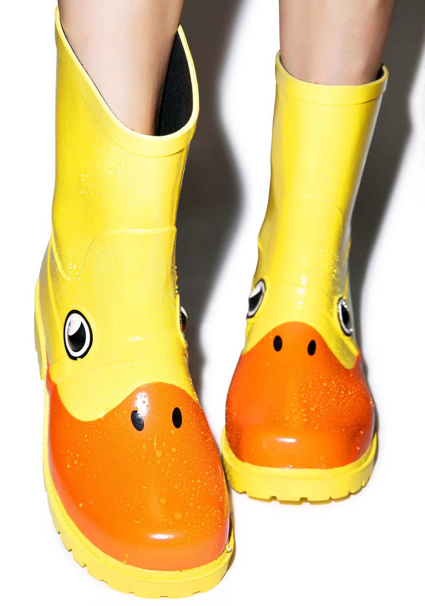 Juju Shoes Duck, Duck Rain Boots | Dolls Kill