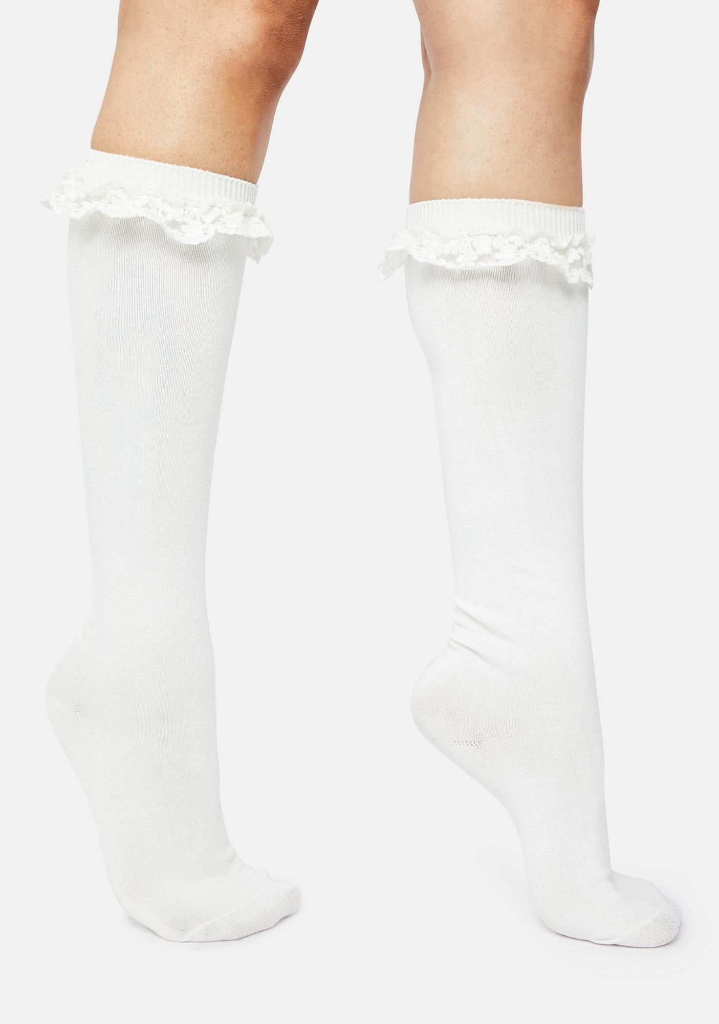 Feeling Blessed Knee High Socks