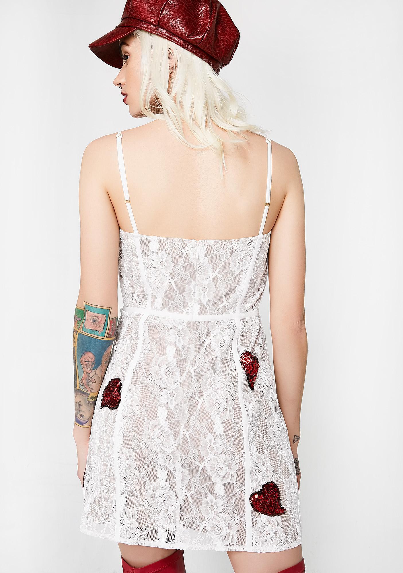 For Love & Lemons La Christy Mini Dress