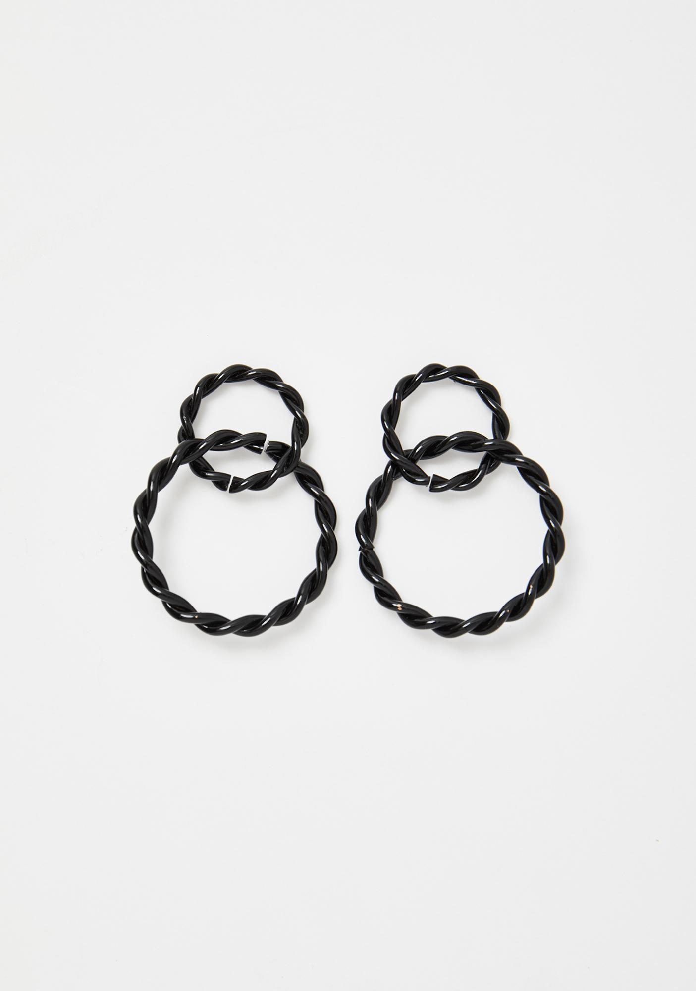 Full Circle Hoop Earrings