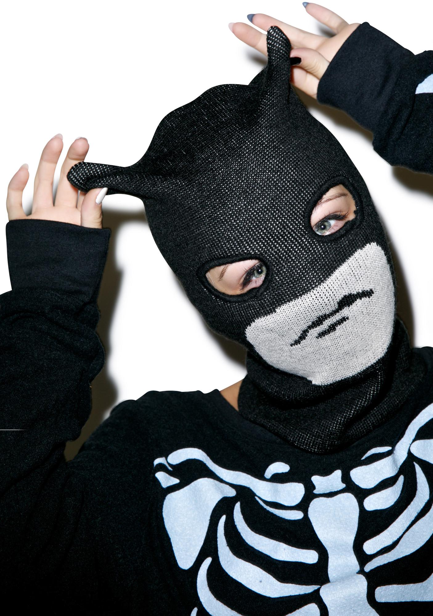 Dark Crusader Knit Mask