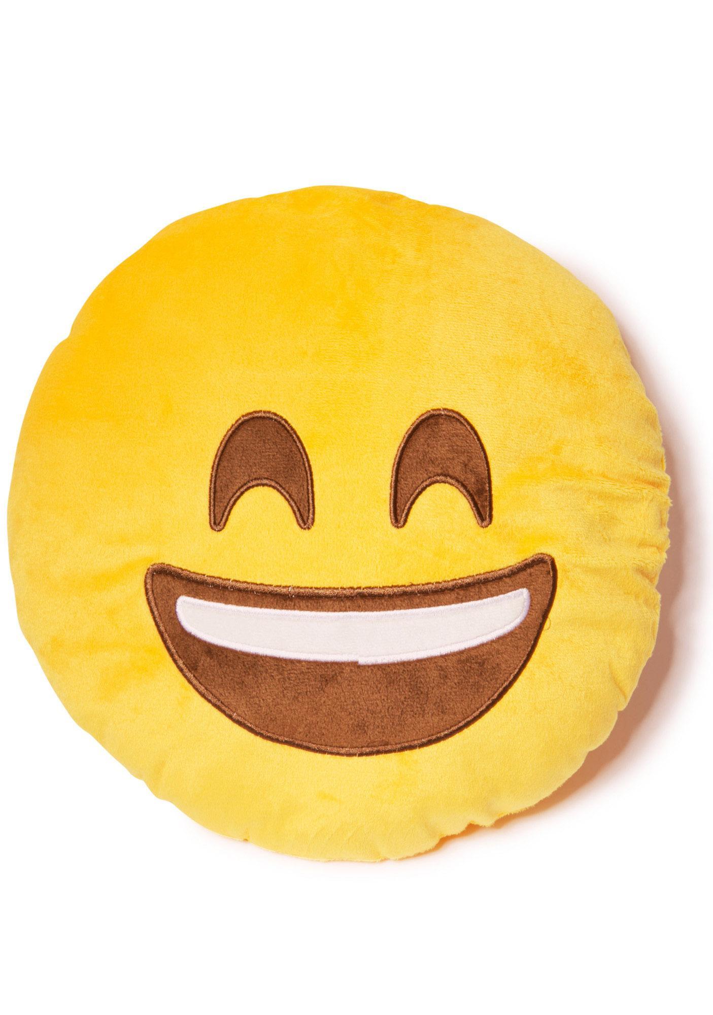 Smiley Emoji Pillow