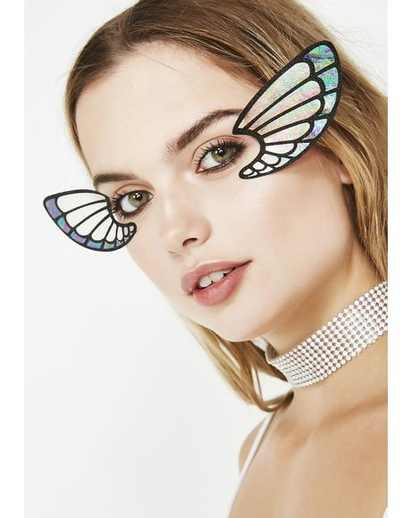 Bossamer Wings Face Lace