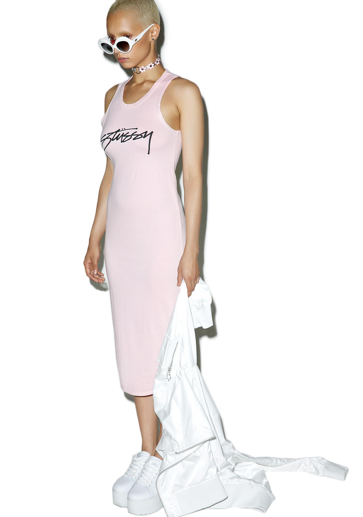 Stussy Smooth Stock Maxi Dress
