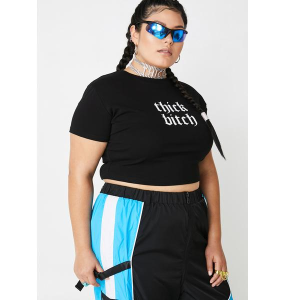 Poster Grl Thicc Bish Graphic Tee