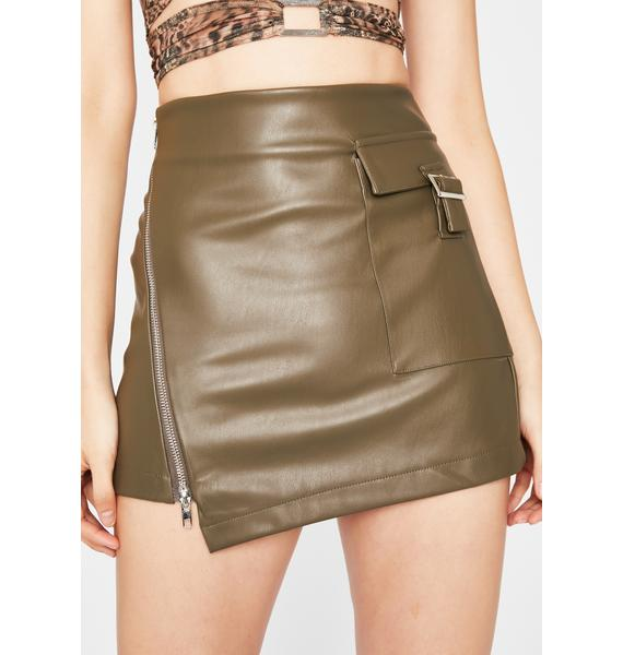 Envy I Have Arrived Mini Skirt