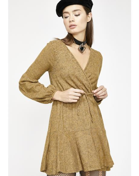 Day Dreamin' Wrap Dress