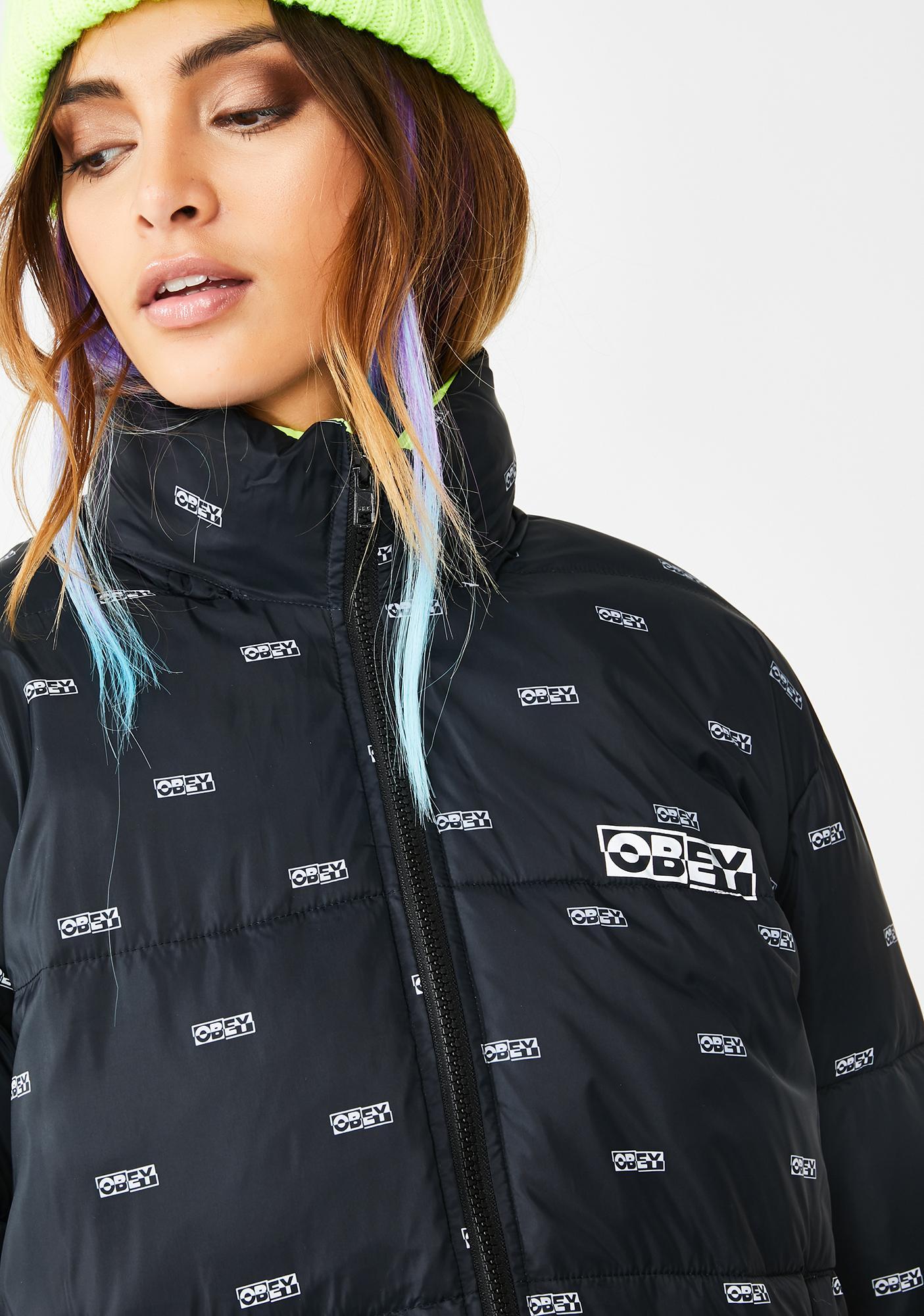 Obey Ruby II Puffer Jacket