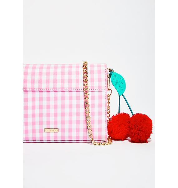 Skinnydip Cherry Picnic Crossbody Bag