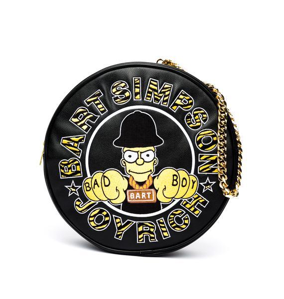Joyrich Bad Boy Bart Circle Clutch Bag