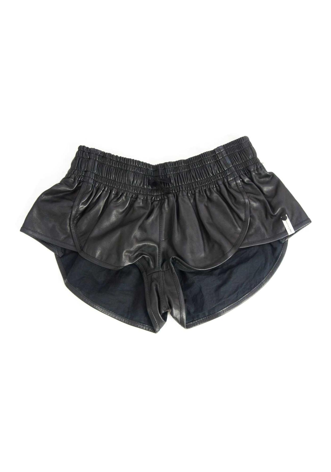 One Teaspoon Vagabond Leather Shorts