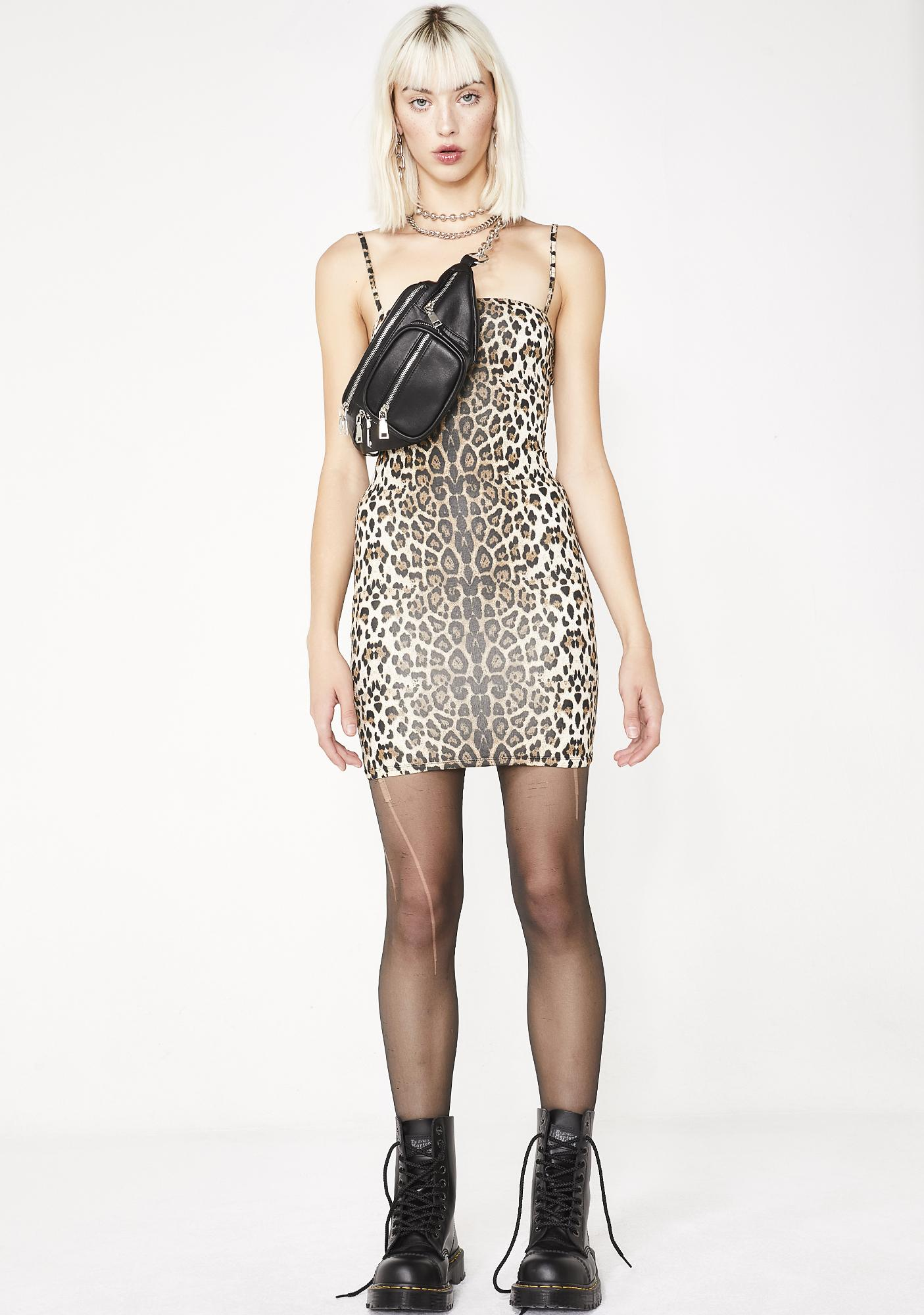 Kitty Here To Slay Mini Dress