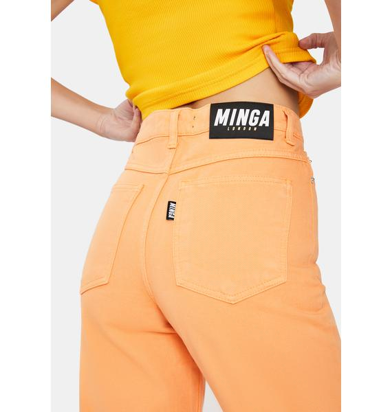 Minga Tangerine Denim Mom Jeans