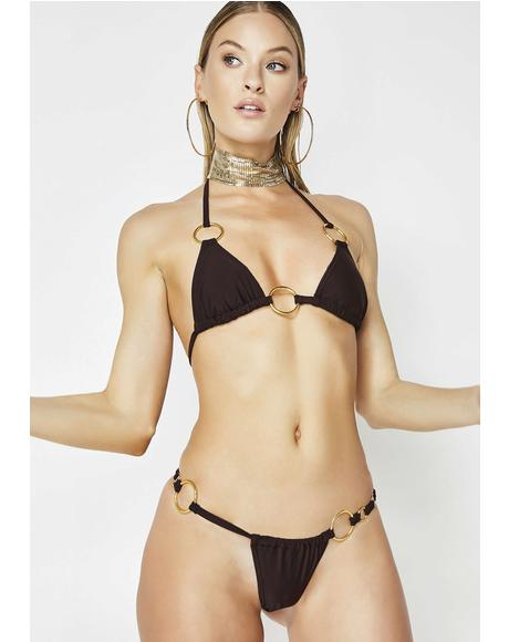 Vacay Mami O-Ring Bikini Set
