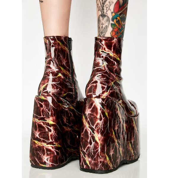 Demonia Thunderdome Ho Platform Boots