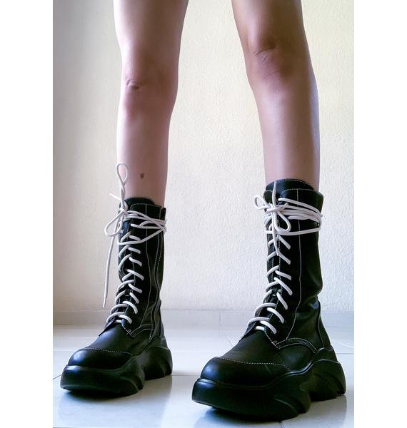 Poster Grl Ground Work Sneaker Boots