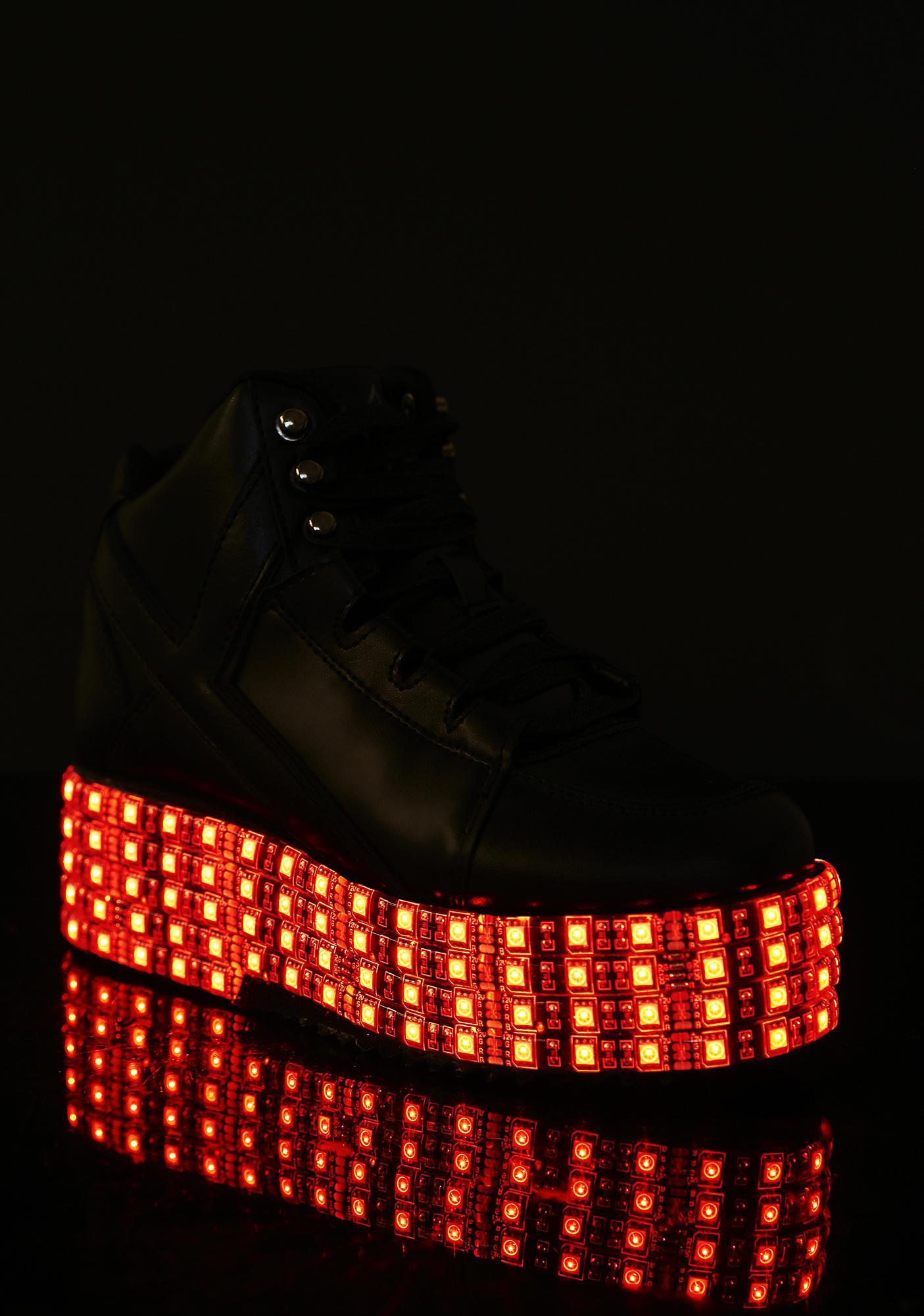 Y.R.U. Twilight Zone Qozmo LED Sneakers