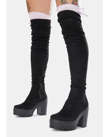 Michel Thigh High Boots