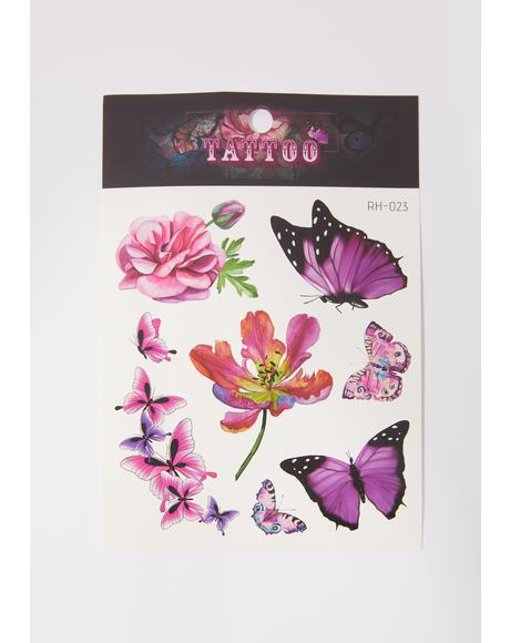 Made To Fly Temporary Tattoo Pack