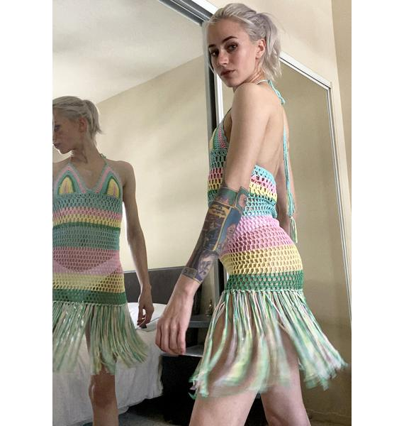 Let Free Crochet Dress