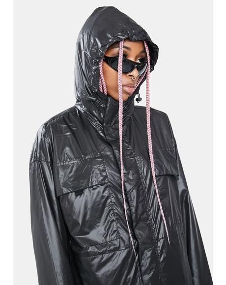 Dark Utility Windbreaker