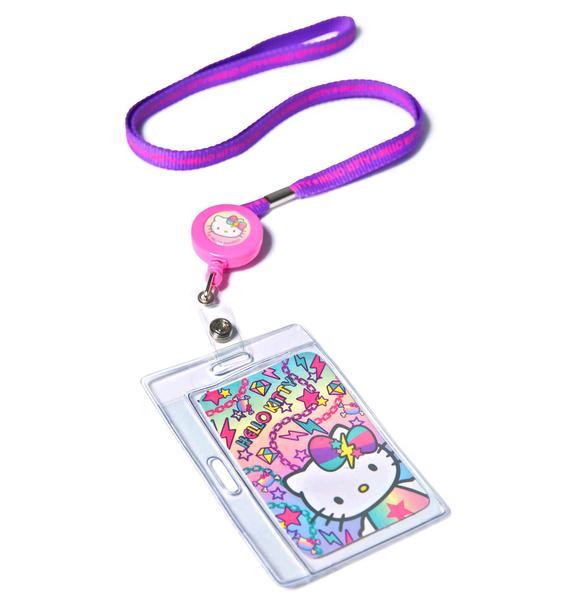 Sanrio Pastel Pop Hello Kitty Key Leash