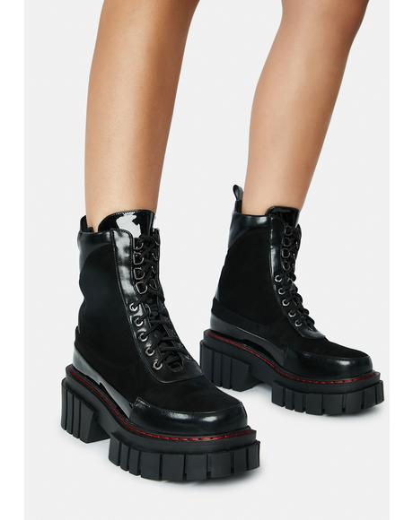 Trent Lace Up Boots