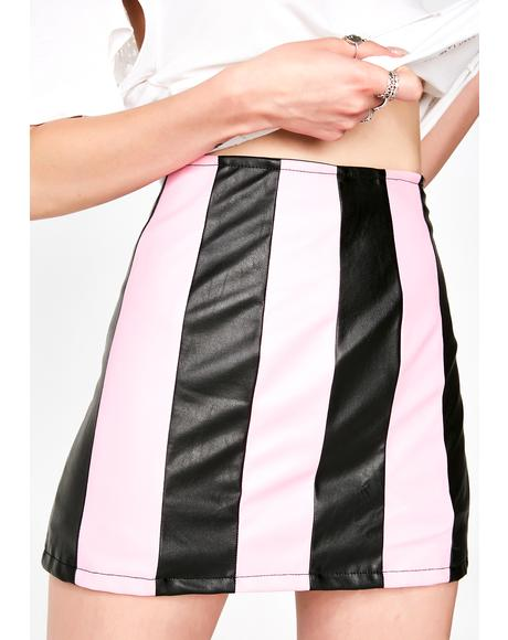 Candy For The Show Mini Skirt