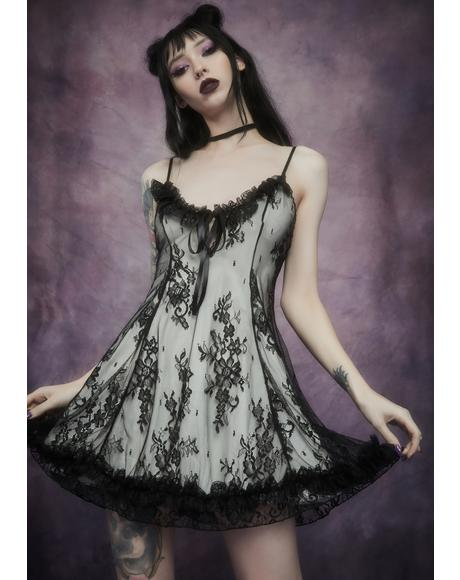 Dove Faithfully Doomed Lace Dress